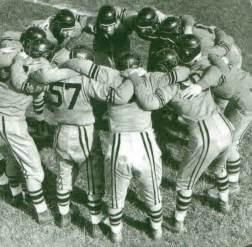 Paul Hubbard Football Huddle