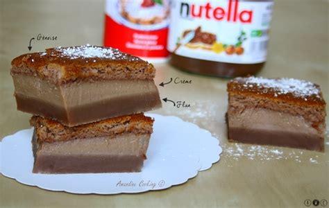 recette de dessert au nutella g 226 teau magique au nutella 174 amandine cooking