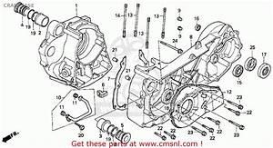 Honda Cn250 Helix 1992 Usa Crankcase