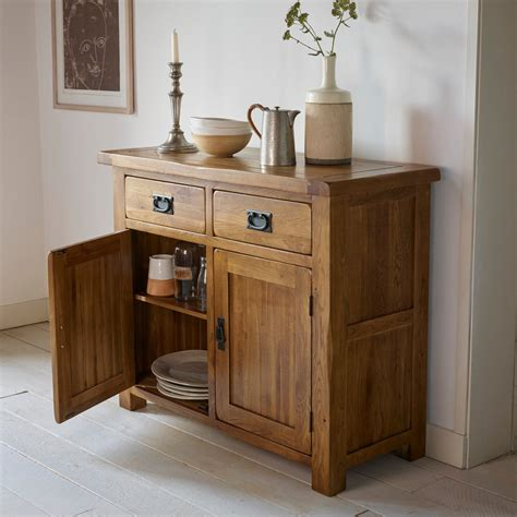 Sideboard Furniture by Original Rustic Solid Oak Small Sideboard Oak Furniture Land