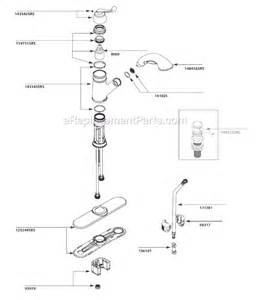 moen kitchen faucet repair diagram moen ca87007srs parts list and diagram ereplacementparts