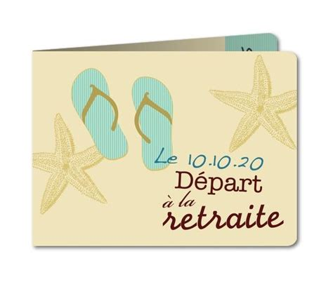 carte invitation d 233 part retraite tongs b 468 rc1 retraite scrapbooking