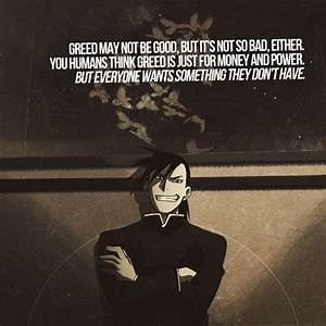 The homunculus Greed from Fullmetal Alchemist. I agree ...