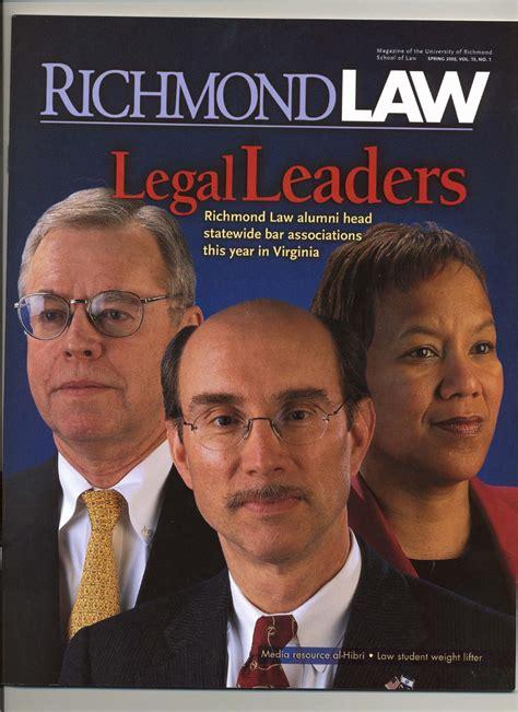 richmond law spring   ur scholarship repository