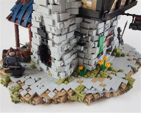 sous bureau york des maisons moyenâgeuses fantastiques en lego