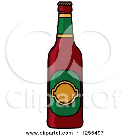 cartoon beer bottle royalty free vector illustrations by seamartini graphics