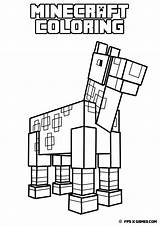 Minecraft Coloring Pages Printable Getcolorings sketch template