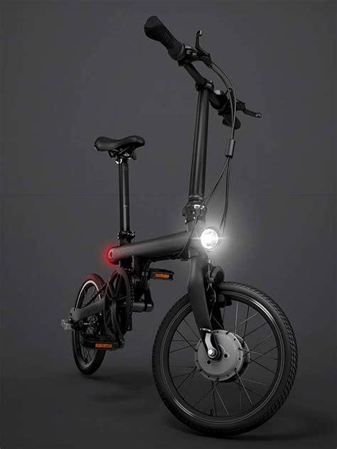 xiaomi e bike xiaomi qicycle folding electric bike boasts 250w motor