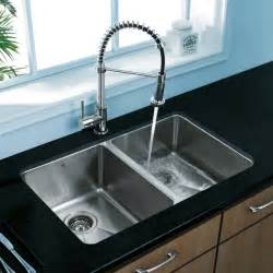 kitchen sink and faucet vigo premium collection kitchen sink faucet vg14003 modern kitchen sinks york