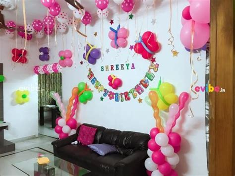 Beautiful Home Balloon Decoration-birthday Customised