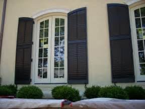 Colonial Exterior Window Shutters