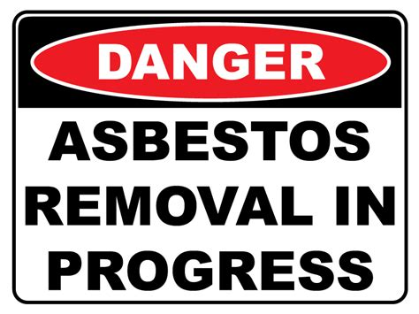 danger asbestos removal  progress newprint hrg