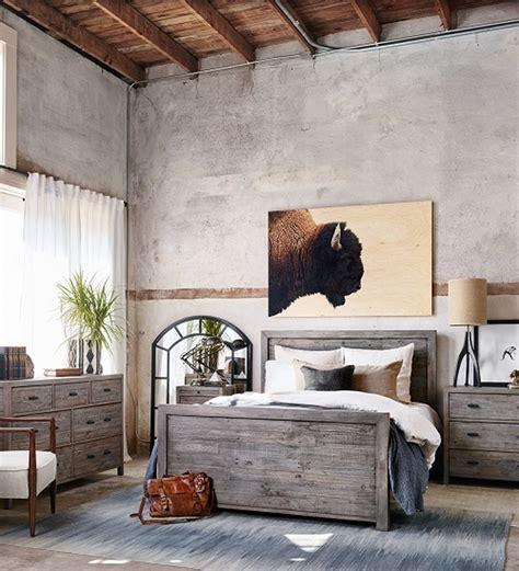 choose modern rustic bedroom furniture zin home