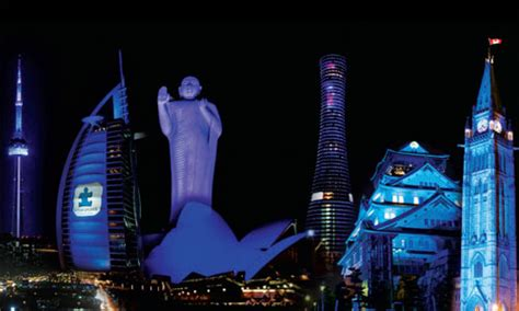 join us to light it up blue for world autism awareness day