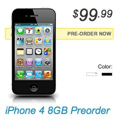 sprint iphone pre order sprint opens up pre orders for the iphone 4 techcrunch