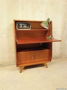 Bureau Secretaire Vintage : vintage bureaukast secretaire deense stijl bestwelhip ~ Teatrodelosmanantiales.com Idées de Décoration