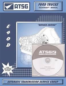 Atsg Ford E4od Transmisson Training Dvd Video  U0026 Rebuild Manual Combo Pack