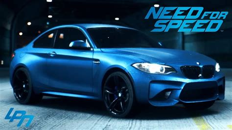 need for speed 2015 bmw m2 coup 201 trailer youtube