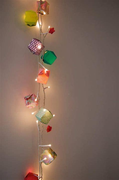 string lights light origami garland decoration decor diy christmas paper idea homemade crafts garden festivals woo guests amazing decorate stunning