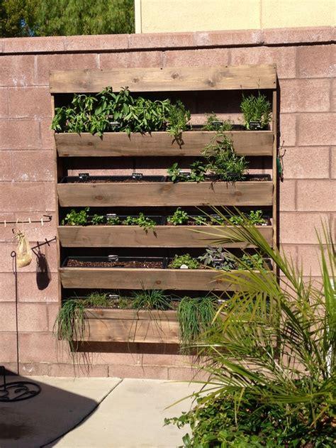 wall garden outdoor herb wall garden i garden pinterest