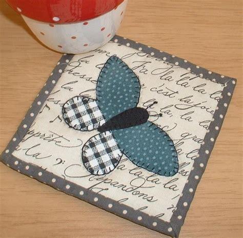 mug rug patterns butterflies take flight on pretty mug rugs quilting digest