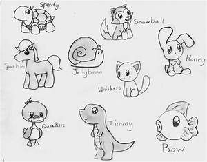 Cute Easy Animal Drawings 25+ Best Ideas About Cute Animal ...
