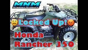 Complete Honda Rancher Trx 350 Es 4x4 Engine Tear Down