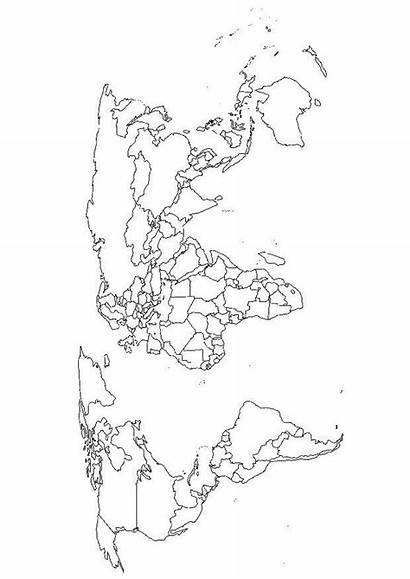 Coloring Map Pages Maps Geography Country Printable