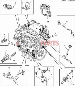12674782  Saab Oil Pressure Sensor  2 8t V6