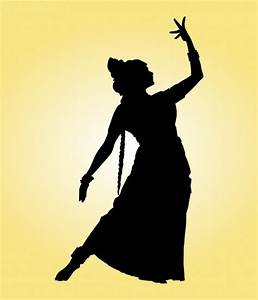 Indian Dancer Silhouette Vector   Free Download