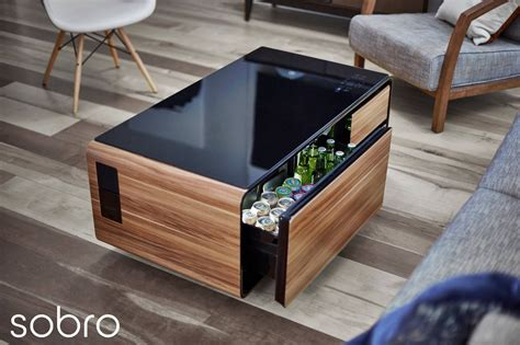 I absolutely must thank my wonderful husband, cooper, for indulging me with my tech obsession. Sobro Smart Coffee Table by Sobro Design