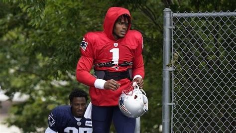 Cam Newton continues mutual admiration society with Bill ...
