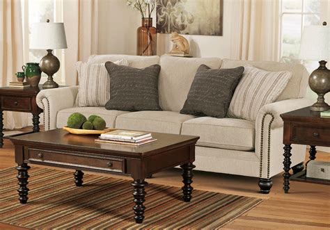 Milari Sofa And Loveseat by Milari Linen Sofa Set Cincinnati Overstock Warehouse