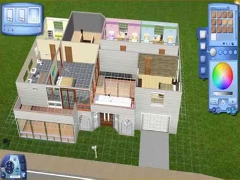 blueprints only sims 3 family home
