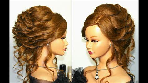romantic bridal wedding hairstyle  long hair tutorial