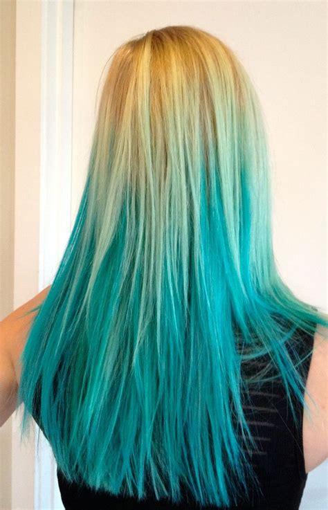 Best 25 Teal Hair Streaks Ideas On Pinterest Teal Hair