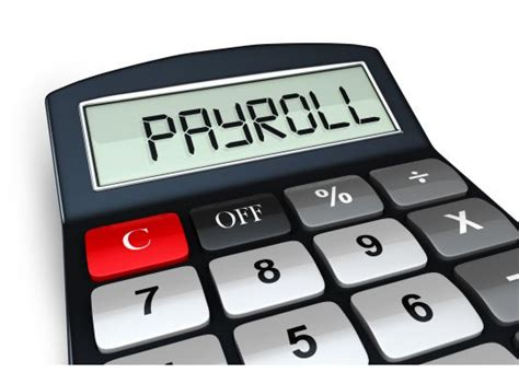 payroll word   calculator digital display stock