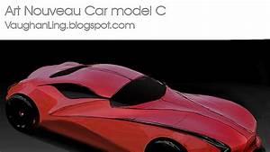 V Ling Art Nouveau Car Model C