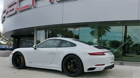 porsche 911 carrera gts white 2017 carrara white porsche 911 carrera gts 450 hp