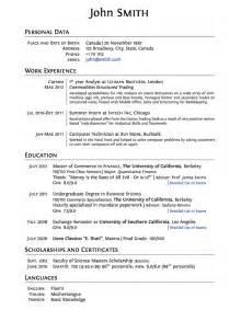college grad resume template latex templates curricula vitae résumés