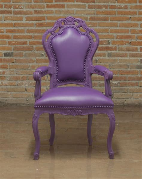 purple armchair 701 accent seating