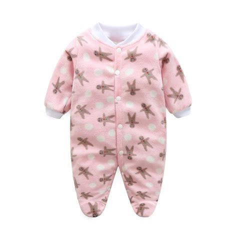 baby jumpsuit baby clothes fleece newborn clothing infant baby