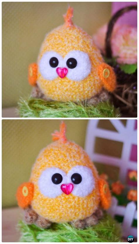 easter crochet chicken  patterns instruction easter