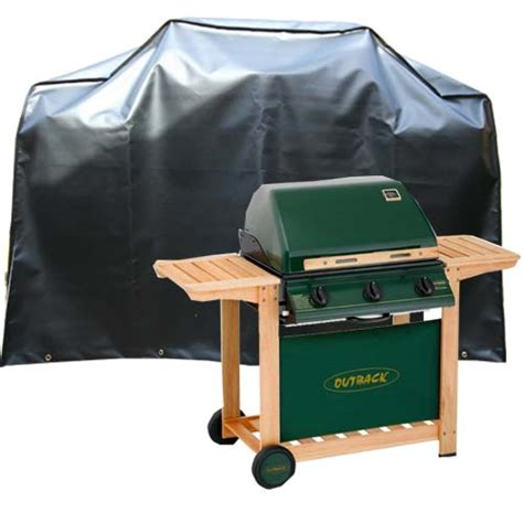 bbq cover 140cm kover it bbq cover outback pvc st