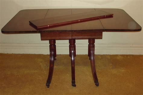 Duncan Phyfe China Cabinet Mahogany by Duncan Phyfe Drop Leaf Table