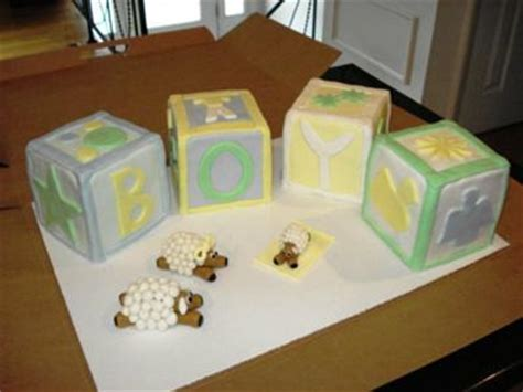 cute baby block cake ideas  pictures   printables