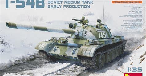 Miniart's New T-54b