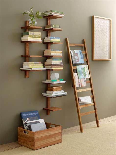 decorative ladder ideas takara column shelf great for a mod minimalist room home accents and decor pinterest