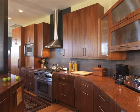 Thermofoil Cabinet Doors Kitchen Contemporary With Wood