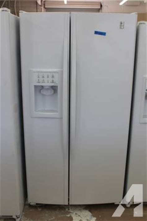 ge profile arctica side by side fridge refurbished for sale in stockton california classified